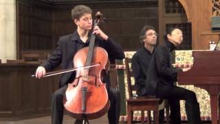 Daniel Hass (15) and Jeanie Chung - Beethoven Cello Sonata No. 3 in A Major Op. 69