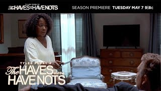 Season Premiere, Tuesday May 7 at 9/8c   Tyler Perry's The Haves and the Have Nots   OWN