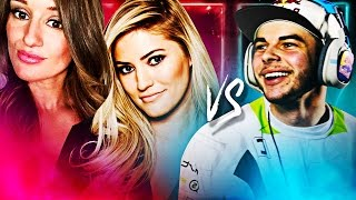 NADESHOT vs. iJUSTINE & JENNA - 2v1 CALL OF DUTY
