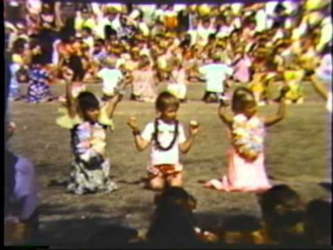 May Day 1970 at Chester W. Nimitz Elementary School, in Honolulu, Hi.