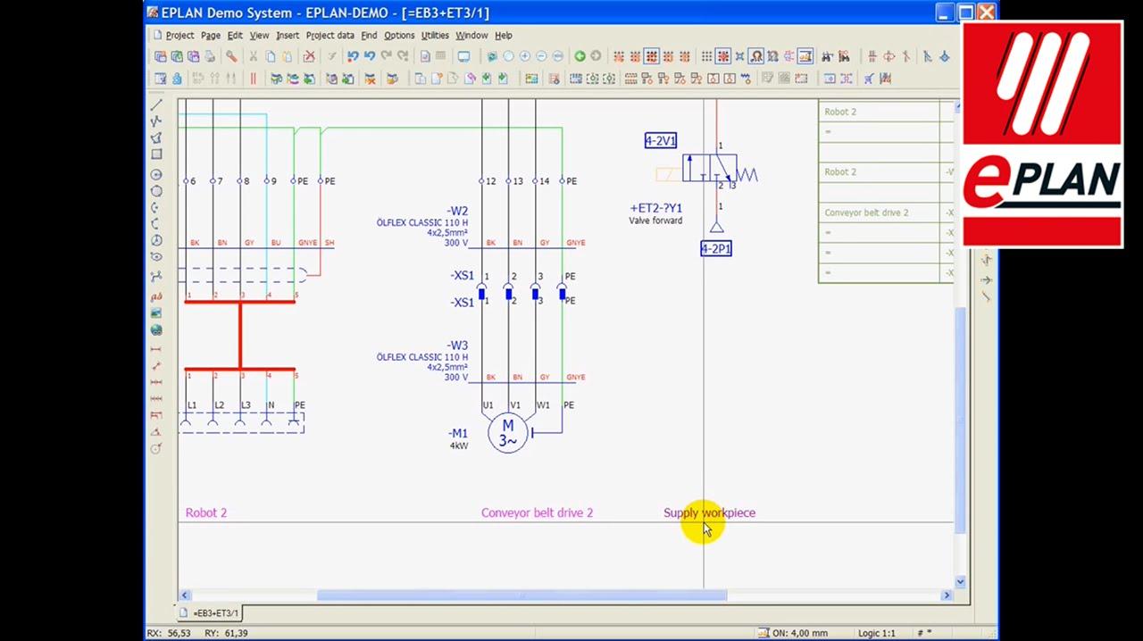 EPLAN Electric P8  Inplace Editing  YouTube