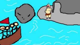 The Odyssey - Odysseus vs Polyphemus Animation