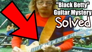 """What IS The """"Black Betty"""" Les Paul? 