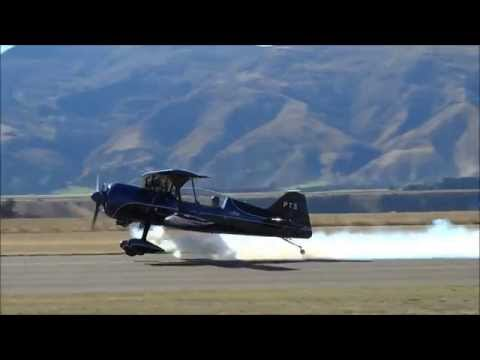 Pitts 12 Aerobatics at Warbirds Over Wanaka.