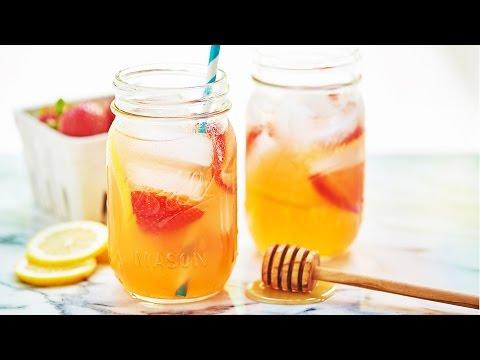 Honey Strawberry Lemonade Recipe Show Me the Yummy Episode 22