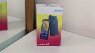 Alcatel A3 - Unboxing [HD]