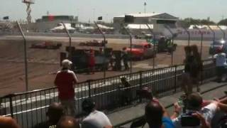 Marco Andretti crash on turn one Honda Grand Prix St. Pete
