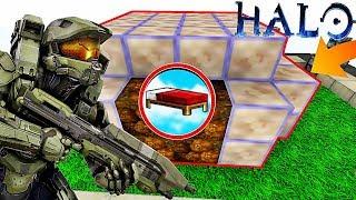UNE BASE SÉCURISÉE HALO !   Minecraft Bed Wars Moddé