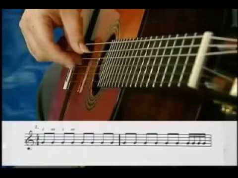 Classical and Flamenco Guitar - Scales Lesson Part 1