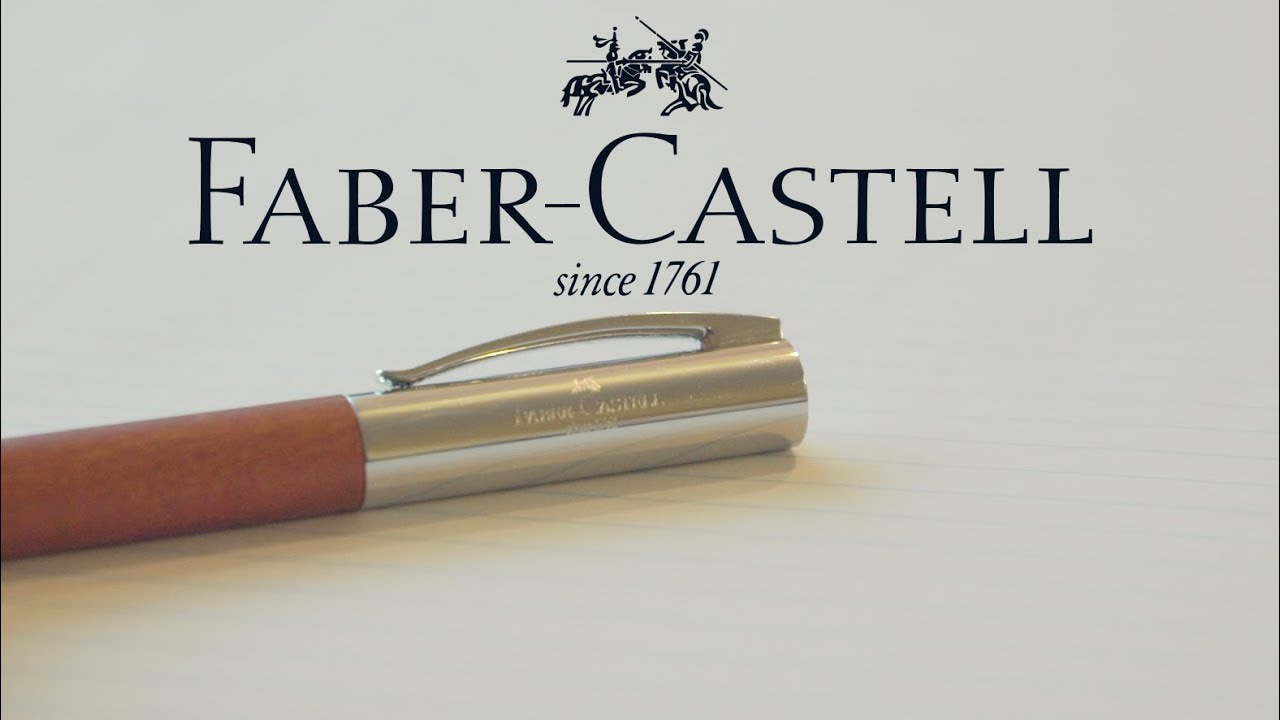 Faber Castell Ambition - Pearwood Brown Fine - YouTube