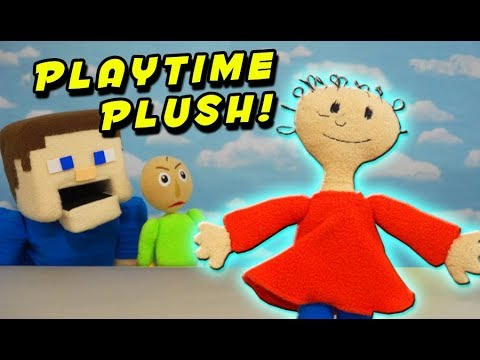 BALDIs BASICS PLAYTIME PLUSH? Toy Unboxing Toy Review  Puppet Steve