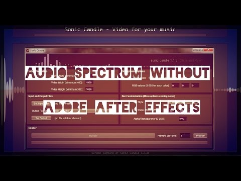 How to create Audio Spectrum WITHOUT Adobe After Effects!