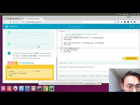 How to learn Data Science Episode 1: Intro to SQL on
