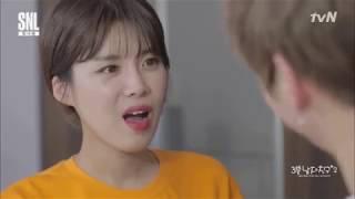 [ENG SUB/CC] WANNA ONE Kang Daniel 3 Minute Boyfriend   SNL 9 KOREA