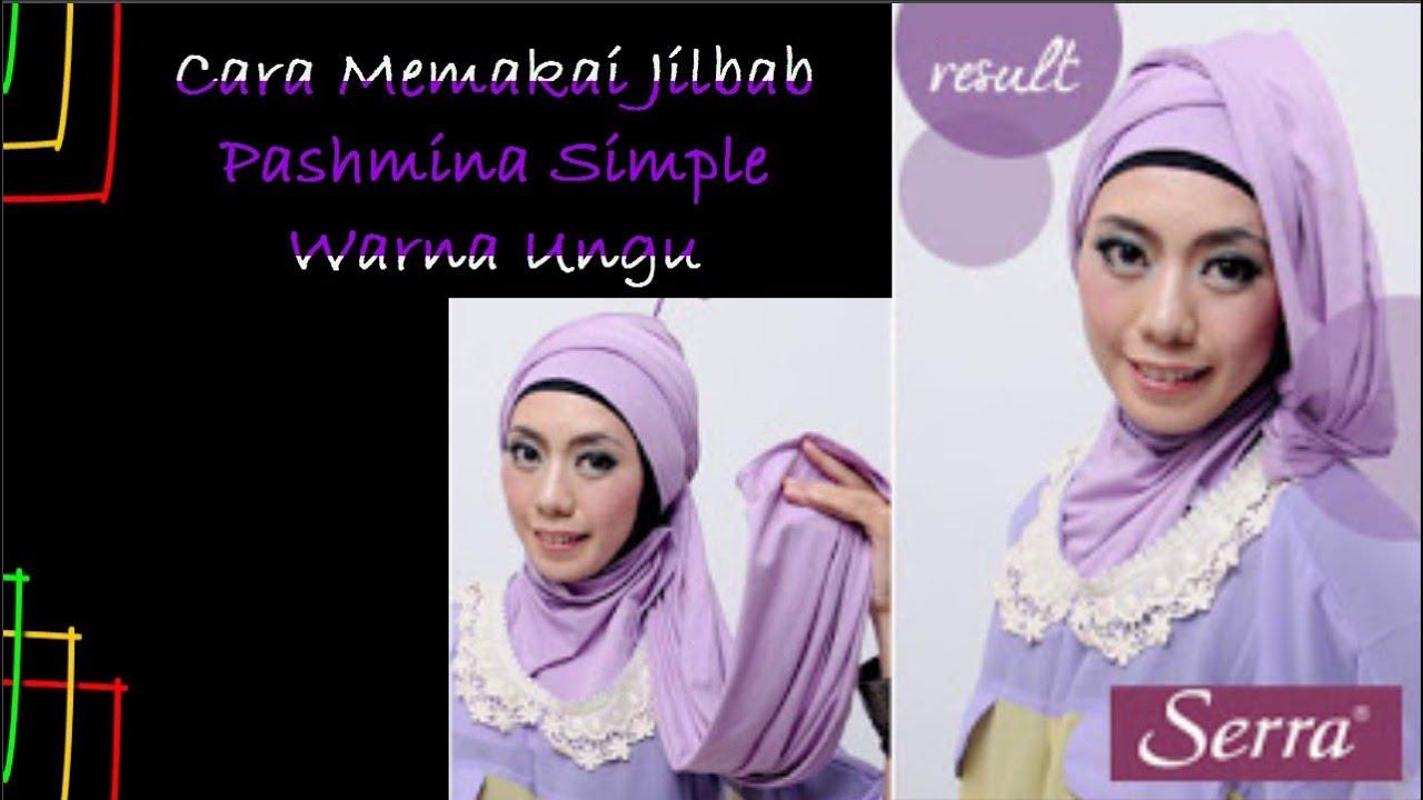 Tutorial Hijab Pashmina Tanpa Inner Ninja Tutorial Hijab Paling