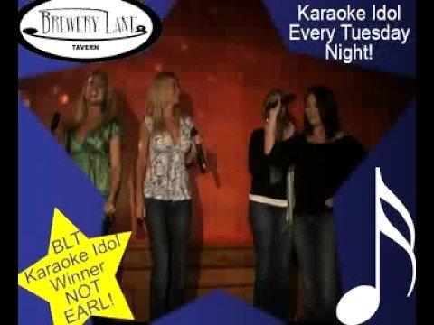 Brewery Lane Karaoke Idol