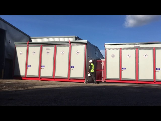 GRP Solutions - Firevault Storage for Organic Peroxides
