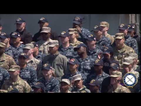 Vice President Mike Pence Speaks on USS Ronald Reagan