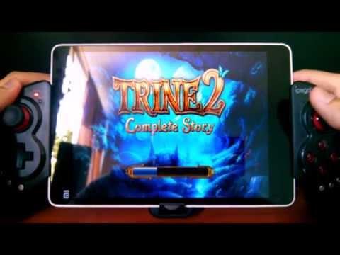Gamepad Bluetooth Ipega PG-9023 con NOVA 3 y Trine 2