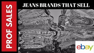 11 Best Jeans Brands to Sell on Ebay