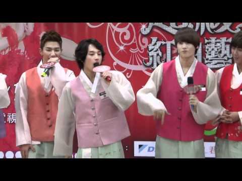 [ZE:A cut] ZE:A Beatbox (Hyungsik funny)