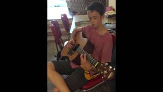 Blackbird by Charlie 2 months into guitar lessons
