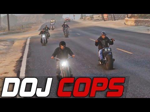 Dept. of Justice Cops #120 - The Lost Biker Gang (Criminal)