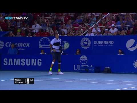 Nick Kyrgios Magic in Victory over Nadal | Acapulco 2019