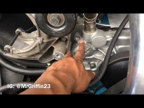 AC Install: Part 1 | Mid 90s GM Truck Compressor Bracket | LS SWAP | Procharger LSX Aerocoupe | DIY