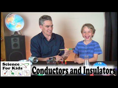 Conductors and Insulators - Electricity - Science for kids
