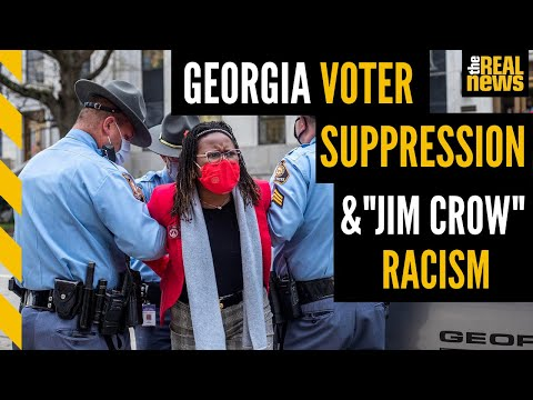 Georgia's new voter suppression law is rooted in Jim Crow racism