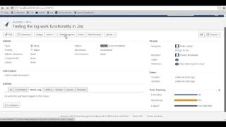 Time Tracking in Jira Video