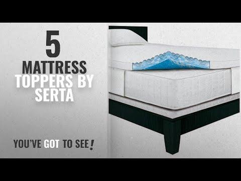 Top 10 Serta Mattress Toppers [2018]: Serta Rest - Queen - 3 Inch Gel Memory Foam Mattress Topper -