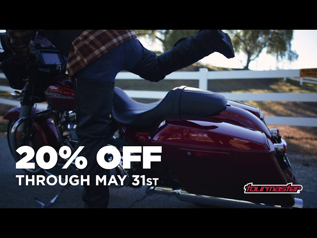 Tourmaster Spring Sale - 20% Off through May 31st 2019