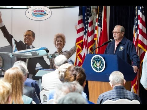 Air Force One Exhibit Opening at the Nixon Library