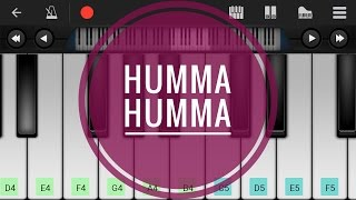 The Humma song | ok jaanu | on perfect piano instrumental.