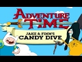 Adventure Time - JAKE & FINN'S CANDY DIVE (Cartoon Network Games)