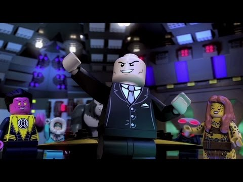 Watch the trailer for LEGO DC Comics Super Heroes – Justice League: Attack of the Legion of Doom!