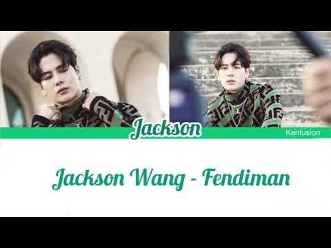 Jackson Wang - Fendiman | Color coded lyrics
