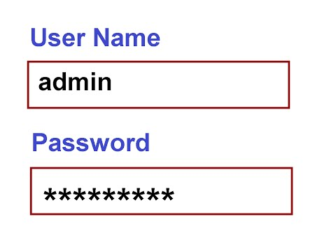 default router passwords - YouTube