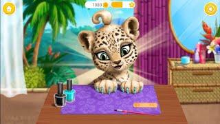 Куклы Пупсики/играем в игру как мультик на телефоне/парикмахерская животных, красим ногти/Зырики ТВ