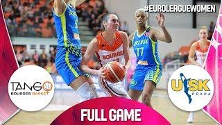 Bourges Basket v ZVVZ USK Praha - Full Game - EuroLeague Women 2019