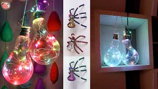 6 Beautiful DIY Room Decor !!! Handmade Things || HomeDecor