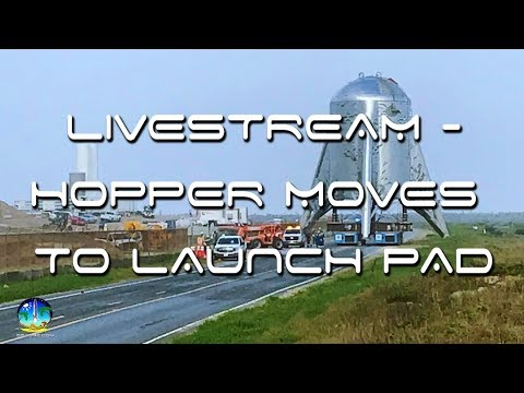 Hopper moving to launch pad livestream