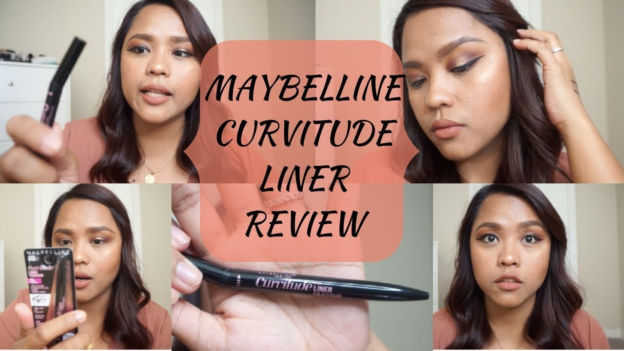 b3b6ccff2b1 BEST LIQUID EYELINER??? | Maybelline Curvitude Liner Review ...