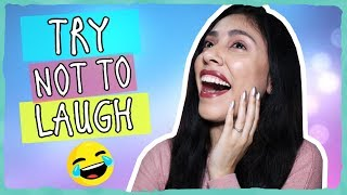 TRY NOT TO LAUGH CHALLENGE - I Failed....BADLY!