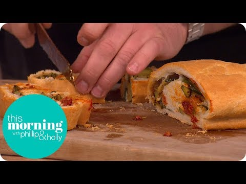The Hairy Bikers' Spicy Sausage Stromboli | This Morning