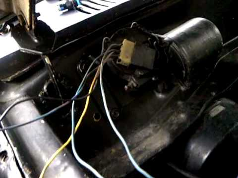 Datsun Wiper motor wiring identification - YouTube