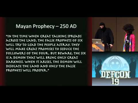 DEFCON 19 (2011) - IP4 Truth: The IPocalypse is a Lie