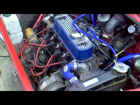 Red Austin Mini Turbo Youtube
